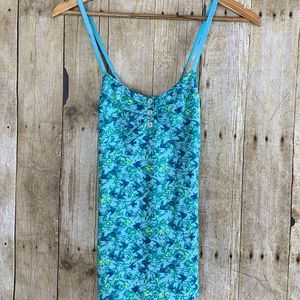 NWT Free People Print Cami w/adjustable Straps
